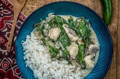 Monkfish Sri Lankan Curry