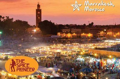 Moroccan spice box
