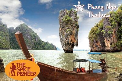 Phang Nga Thailand Postcard