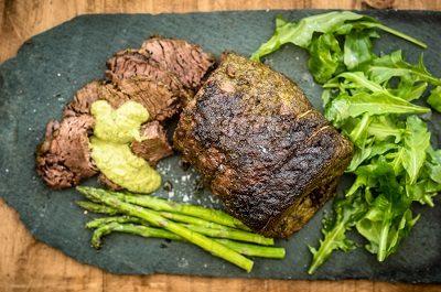 Roast Beef with Chimichurri